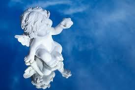 hd wallpaper cherub statue 4k hd