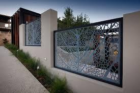 Boundary Walls House Fence Design Fence Design Landscape Design
