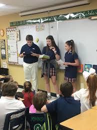 7th Graders Lead Fourth Grade Devotion | News Post