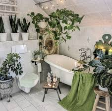 17 bathroom plants that were styled