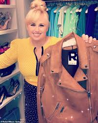rebel wilson sports her own clothing