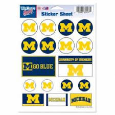 University Of Michigan Stickers Decals Bumper Stickers