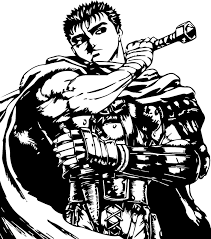 Berserk Guts Wolf Armor Car Window Sticker Decal Manga For Sale Online Ebay