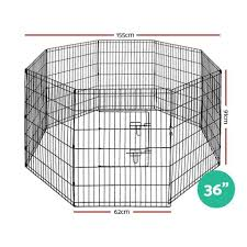 36 8 Panel Pet Dog Playpen Puppy Exercise Cage Direct To Pet