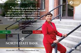 "North State Bank on Twitter: ""Sondra Collins in the @TriangleBIZJrnl, ""At  North State and as chair of the City of Raleigh's Fair Housing Hearing  Board, I provide information that helps people who"