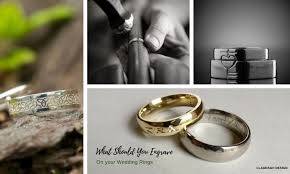 celtic wedding ring engraving ideas in