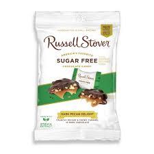 sugar free dark chocolate pecan delight