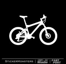 Santa Cruz Logo Vinyl Sticker Decal Car Window Mountain Bike Mtb Road Decals Stickers