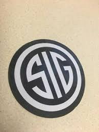 Sporting Goods Sig Sauer Sticker Decal Hunting Accessories Decals Stickers