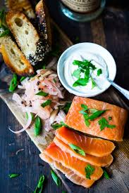 how to make homemade lox feasting at