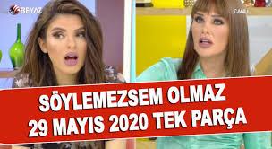 Beyaz Tv - Söylemezsem Olmaz 29 Mayıs 2020...