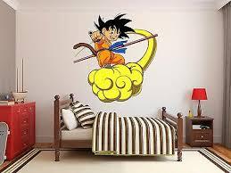 Dragon Ball Goku Logo Wall Decal Decor Stickers Vinyl Dragon Ball Z Kids Ebay