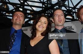 Efram Potelle, director, Erica Beeney, writer, and Kyle Rankin,...  Nieuwsfoto's - Getty Images