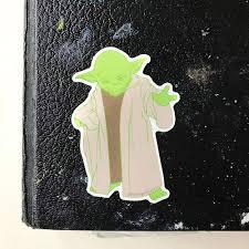 Yoda Vinyl Decal Sticker Mellow Monkey