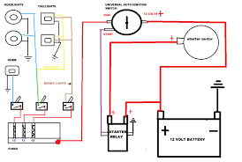 basic starter wiring diagram dodge