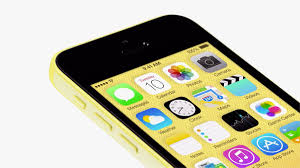 iphone 5c with matching color wallpaper