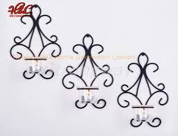 metal wall arts tealight candle holder