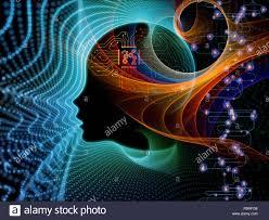 Resplandor de la Consciencia Artificial Fotografía de stock - Alamy