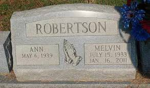 ROBERTSON, MELVIN - Greene County, Arkansas | MELVIN ROBERTSON - Arkansas  Gravestone Photos