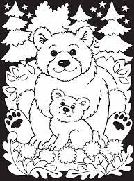 Cute Bears Coloring Page Kleurplaten Dieren Kleurplaten En