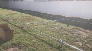 homemade batting cage part1 you