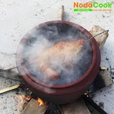 Lu nướng gà đất nung Chịu nhiệt NodaCook: Nướng lu, hấp muối, quay