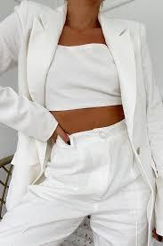 Ada white blazer – Love Storey Boutique