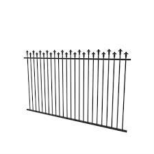 Protector Aluminium 2450 X 1250mm Hi Low Spear Top Pool Fence Panel