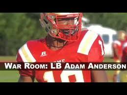 Recruiting War Room: 5-star OLB Adam Anderson - YouTube