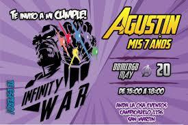 Tarjetas Invitaciones Cumpleanos Avengers X10uni 60 00 En