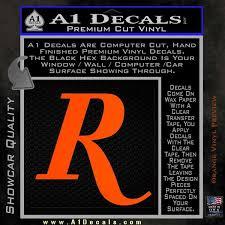 Remington R Decal Sticker A1 Decals