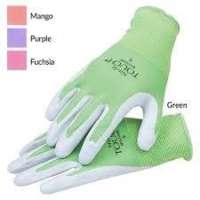 nitrile touch gloves gardeners edge