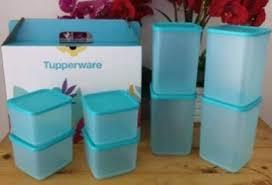 tupperware sea breeze set 8pcs with