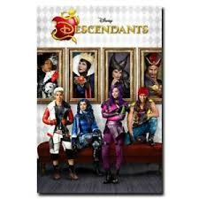 Descendants 24x36inch Movie Silk Poster Room Door Decals Wall Decoration Ebay
