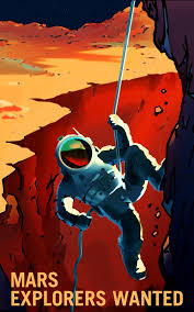 mars explorers wanted posters nasa mars