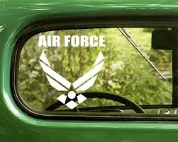 2 U S Air Force Mi Itary Decal Sticker Air Force Decals Stickers Decals