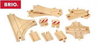 brio advanced expansion wooden train