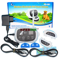 Wholesale 5 Pieces Kd 661 Waterproof Rechargeable Wireless Electronic Pet Fence System 1 2 Dog White Dog Fence System Electronic Pet Fencing System Electronic Pet Fencefence System Aliexpress