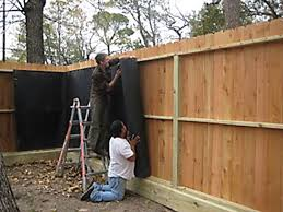 Soundproofing Solutions Residential Noise Photo Gallery Backyard Fences Fence Design Sound Proofing