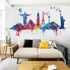 World Famous Buildings Removable Art Vinyl Wall Stickers Diy Home Wall Decor For Sale Online Ebay