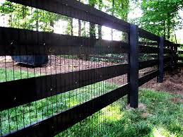3 4 And 5 Board Post And Rail Wood Fence Fence Landscaping Backyard Fences Front Yard Fence