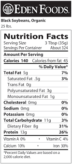eden foods black soybeans organic dry