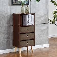 Amazon Com Homesailing Living Room Storage Cabinet Sideboard Cupboard With Drawers Espresso Entry Sofa Console Table For Kids Room Bedroom Bookcase Kitchen Dining