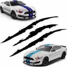 Vova High Qaulity Car Reflective Monster Sticker Scratch Stripe Claw Marks Car Auto Headlight Vinyl Decal Car Sticker