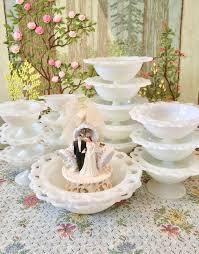 milk glass bowl milk glass candy dish