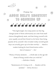 Addie Bell's Shortcut to Growing Up| Penguin Random House Retail