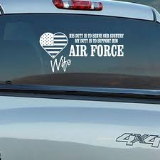 Air Force Wife His Duty Decal Car Decals Vinyl Air Force Airforce Wife