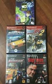 list for ps2 console no reserve ebay