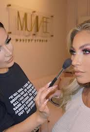 khloe terae at muavee makeup studio in