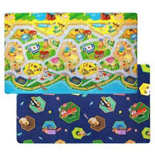 Playroom Plastic Kids Rugs Rugs The Home Depot
